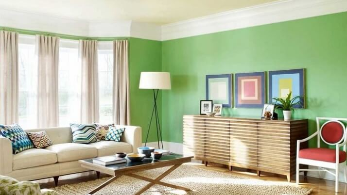 Pintura de interior: escapa de la monotonía decorando tu hogar