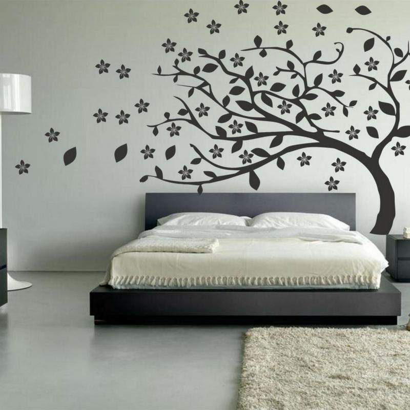 decorar el hogar con murales y vinilos decorativos