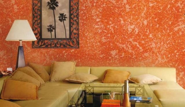 T cnicas decorativas de pinturas para muros y paredes - Pintura para pared lavable ...